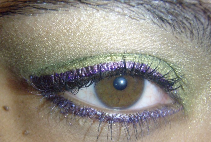 Mardi Gras Eye Rachel Bush Professional Makeup Artist Licensed