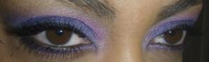 Dark Purple, Dark Blue, and Hot Pink, eyes open
